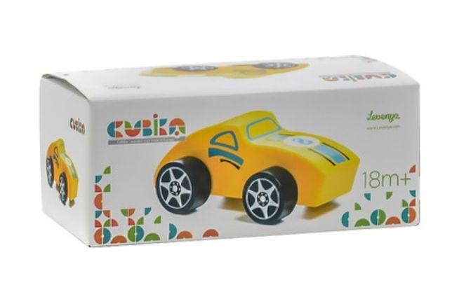 Деревянная Спортивная машинка Cubika