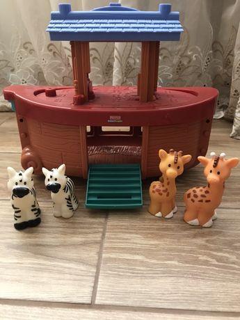 Развивающая игрушка Ноев ковчег Fisher-Price Little people