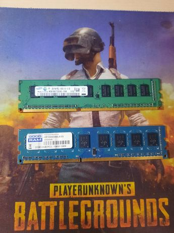 Оперативная память DDR3 2x4GB (робочие)