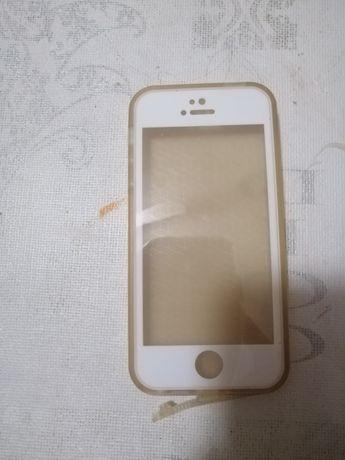 Capa bolsa 360°Dourado IPhone SE