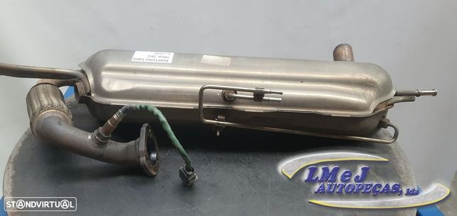 Panela de escape Usado SMART/FORTWO Cabrio (451)/0.8 CDi (451.401)   08.09 -