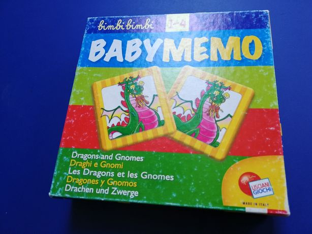 Babymemo memory duże poręczne do chwytu