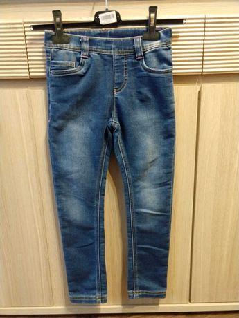 Spodnie jeansowe dla dziewczynki 122 stan bardzo dobry