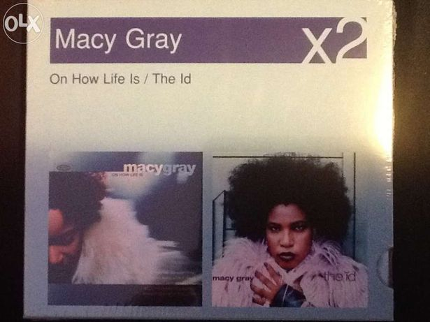 "Macy Gray 2CDS ""On How Life is"" / ""The Id"""