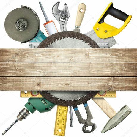 Строительные работы любой сложности,кладка,плитка,камины и печи