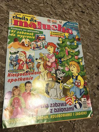 Czasopismo Chwila dla malucha z zagadkami i edukacyjnymi treściami