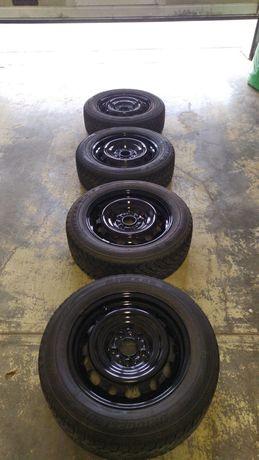 Opony zimowe Bridgestone Blizzak 205/60 R16 + felgi 5x114.3