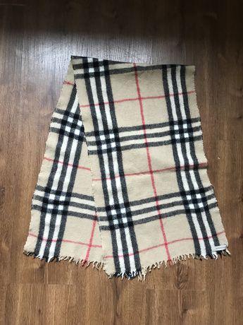 Шерстяной шарф burberry