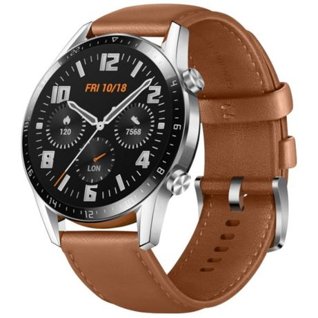 Huawei Watch GT 2 Classic 46mm Castanho Pebble