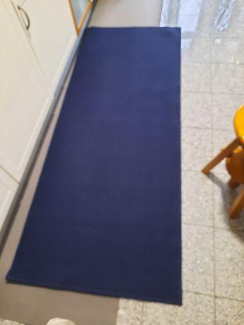 Tapete azul escuro l, usado 1x de 150x80