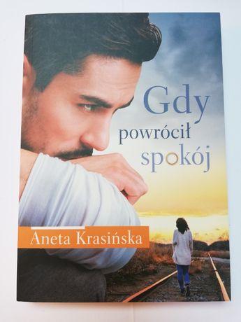 Aneta Krasińska - Gdy powrócił spokój (obyczajowa, kobieca) [nowa]