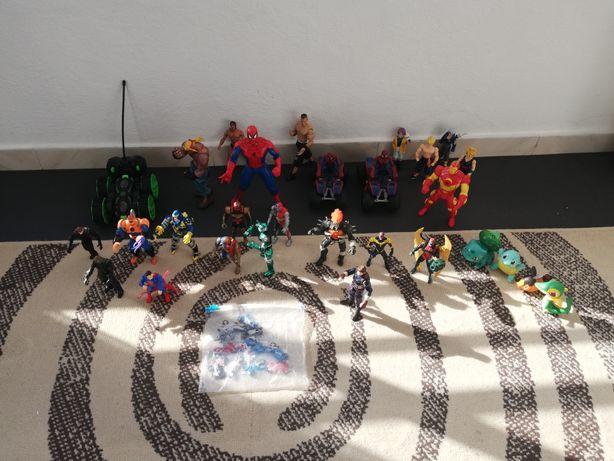 Figuras bonecos marvel, hasbro, Dc e outros