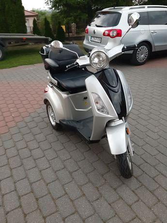 Wózek,Skuter,Motorower Elektryczny InwaldzkiDla Seniora.Zarejestrowany