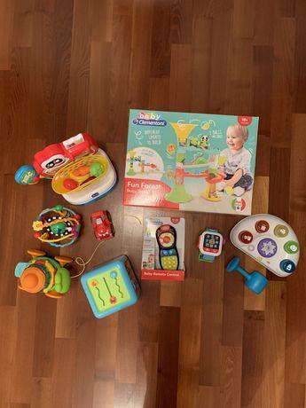 Zestaw nowych zabawek dla 0-2 latka