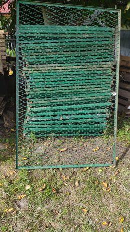 Przęsło Ogrodzeniowe 200x125 Metalowe