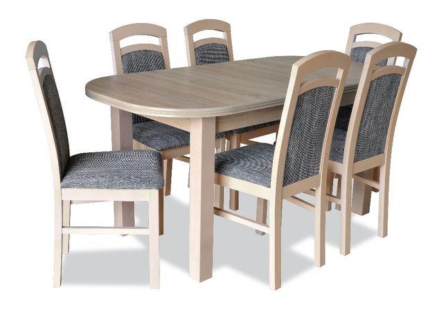 Zestaw do jadalni Z1N - stół + 6 krzeseł