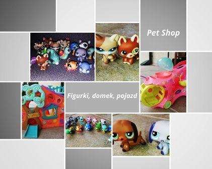 Mega zestaw Littlest Pet Shop- możliwa wysyłka kurierem