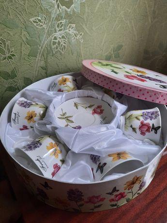 Сервіз набор чашек подарок посуда