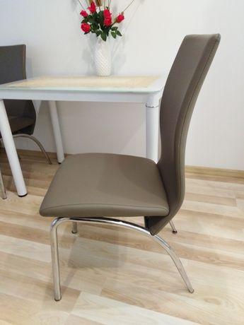 Krzeslo tapicerowane, komplet 4 sztuki