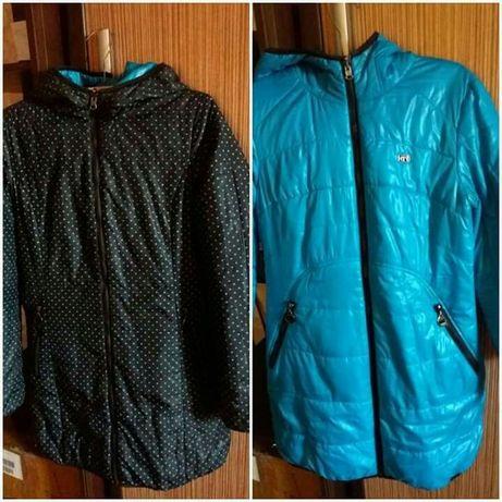 Женские зимние вещи,куртки.