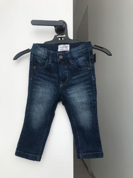 Nowe spodnie jeansy rozmiar 74/80