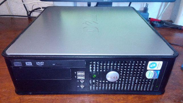 Прокаченный сис.блок Dell Optiplex 755 SFF на 4 ядерном Xeon,SSD, Wifi