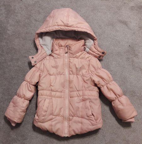 Kurtka zimowa różowa dziewczynka LUPILU rozm.104 3-4 lata