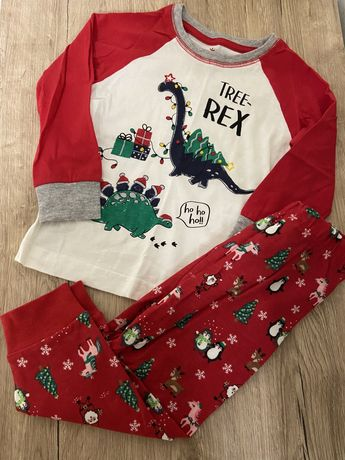 Новогодняя пижама Primark TRax 12-18 месяцев