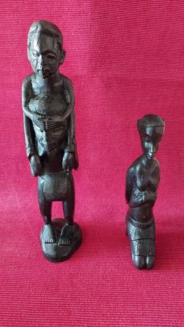 Estatuas antigas de Arte Macua - Moçambique