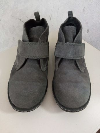 Ботинки, черевики замшеві Timberland для хлопчика 35 розмір