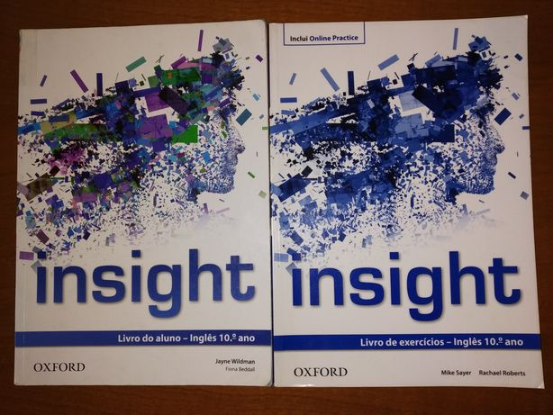 Manual + Caderno de atividades Insight 10° ano - Oxford