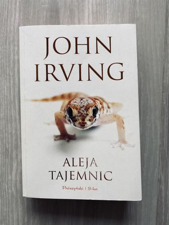 Książka John Irving Aleja Tajemnic