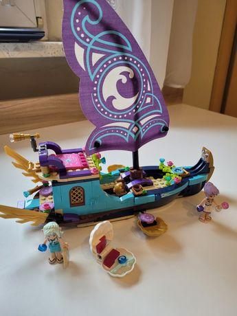 Klocki LEGO Elves 41073 Statek Naidy, stan bdb, książeczka.