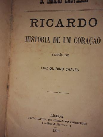 Ricardo Historia de um Coracao 1878