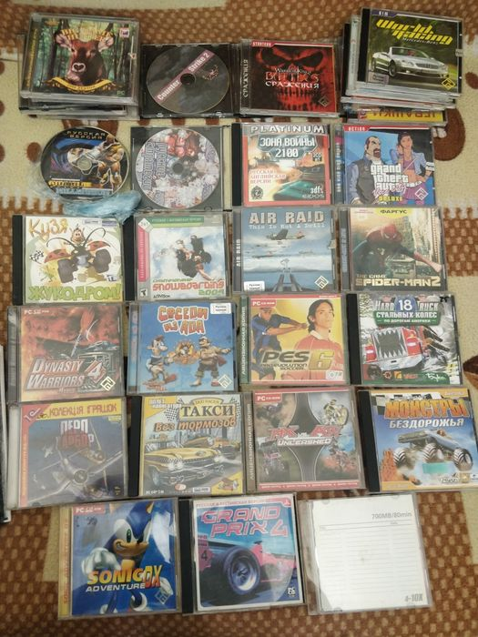 Диски CD DVD игры, фильмы, программы Коцюбинское - изображение 1