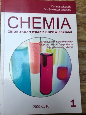Dariusz Witowski - zbiór zadań z chemii Tom 1