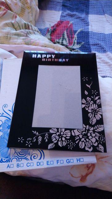 """Рамка для фотографий С днем рождения """"happy birthday"""" подарок праздник"""
