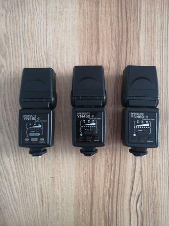 3 lampy Yongnuo YN460 II