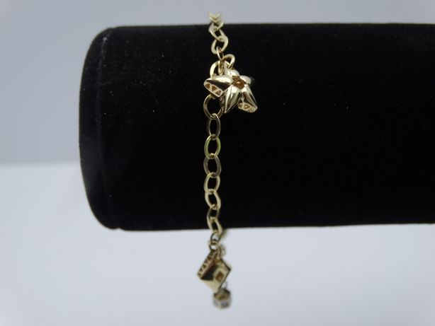Piękna złota bransoletka P585 6,33g 19,5 LOMBARD66