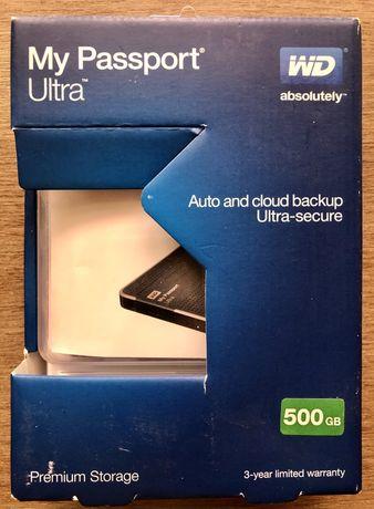Внешний диск WD My Passport Ultra