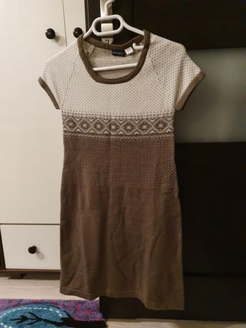 Dzianinowa sukienka S