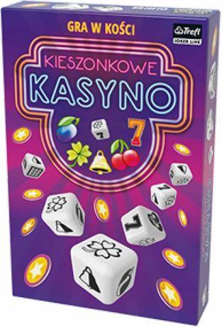 Kieszonkowe kasyno - gra planszowa - 2 sztuki