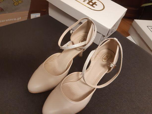 buty ślubne Wit - beżowe/latte