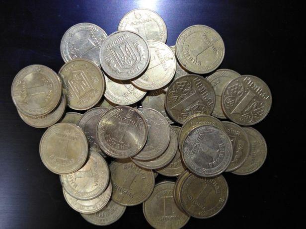Продам Монету 1 одна ГРИВНЯ 100шт
