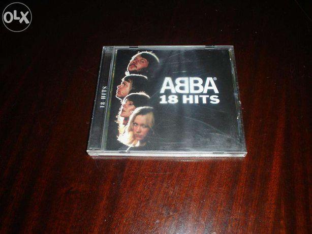 """CD dos ABBA """"18 HITS"""""""