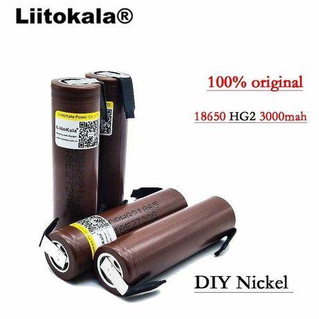 Высокотоковые аккумуляторы 18650 3000mAh 3.7V