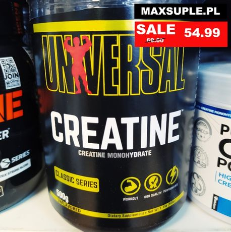 Maxsuple.pl Universal Creatine Monohydrate 500g