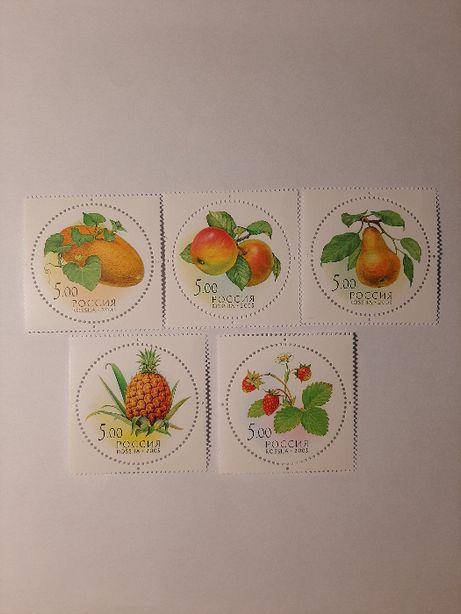 Znaczki pocztowe - zestaw 6
