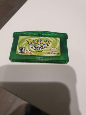pokemon leaf green gameboy advance SP
