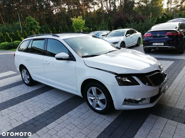 Škoda Octavia Salon Polska 2.0 TDI ;2019 ,BIAŁA